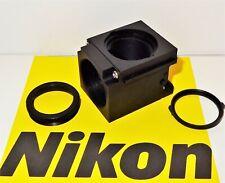 Nikon Empty Fluorescent Microscope Filter Block For E400600 Te200300