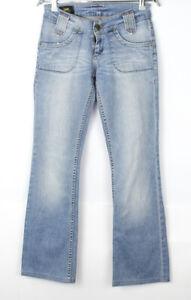 Vintage LEE Women Flared Stretch Jeans Size W26 L30