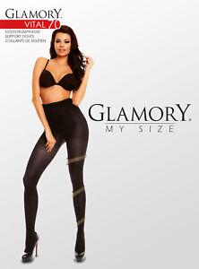 Glamory-Vital-70-den-Stuetzstrumpfhose-bis-grosse-Groesse-62-XXXXL-Plus-Size-50127