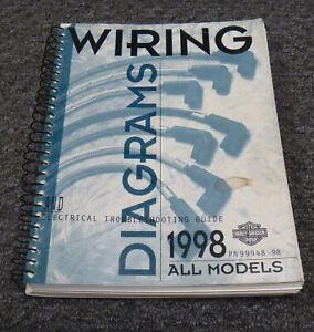 1998 Harley Davidson XLH883 XLH883C Motorcycle Electrical ...