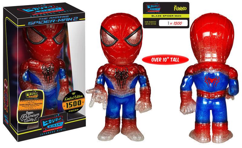 Marvel Blaze Spider-Man Hikari Premium Sofubi Super Sized 10  Figure