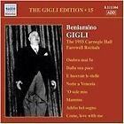 The Gigli Edition Vol. 15: The 1955 Carnegie Hall Recitals (2007)