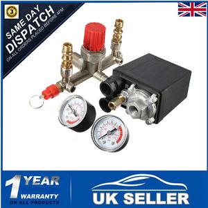 Interrupteur-securite-Air-vanne-collecteur-compresseur-controle-regulateur-manom