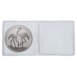 50-lindner-4027-doppelmunzhullen-doble-bolsillos-PVC-para-monedas-hasta-60-mm