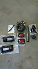 CLUB CAR GOLF CART PART Golf Cart Headlight Tail Light Kit Deluxe 1993-Up DS LED