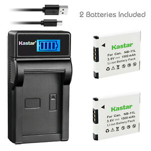 Kastar-NB-11L-Battery-Charger-for-Canon-PowerShot-SX410-SX400-IS-ELPH-320-340