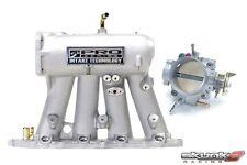 SKUNK2 Intake Manifold Pro Silver+Throttle Body Alpha 70mm B18A1/B18B1/B20B/B20Z