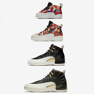 buy popular 5553c cd4dc Details about Nike Air Jordan 12 Retro CNY XII 2019 Chinese New Year Men  Women Kids TD Pick 1