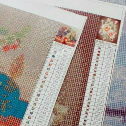 5D Full Diamond Painting Kits Spongebob Kreuzsticken Dekorationen Geschenke