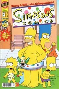 FidèLe Simpsons Comics, Cahier Nº 57 De 7/2001, Dino, Top-afficher Le Titre D'origine