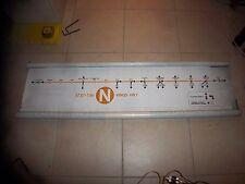 Nyc Subway Map N Line.Mta Nyc Transit Subway Map 7 Line 34st Hudson Yards Grand Opening