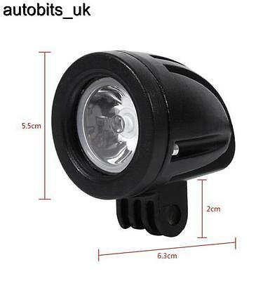 6 X ROUND 10W LED WORK LIGHT 800lm SPOT LAMP 12V 24V Boat ATV Bike Ship Yaht
