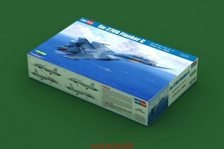 Hobbyboss 81713 1 48 Russian Su-27UB Flanker C