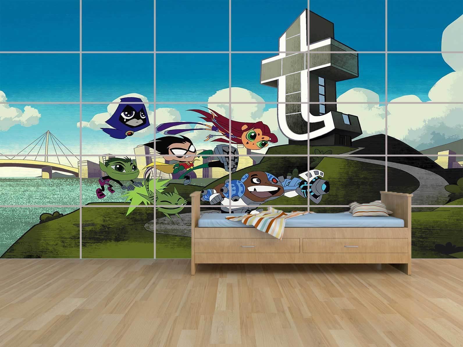Teen Titans Riesig Plakat Zimmer Kinder Raum Kinder