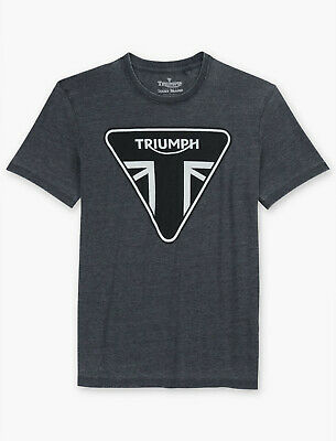 Lucky Brand Mens Triumph Badge Motorcycle Tee