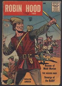 Robin-Hood-Tales-2-Good-Very-Good-Pre-DC-Issue-Quality-Comics-1956-CBX34
