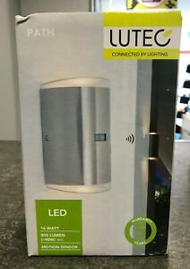 Luctec-Path-ST6057-PIR-3K-3000K-16-Watt-800-Lumen-Light-With-Motion-Sensor-NEW
