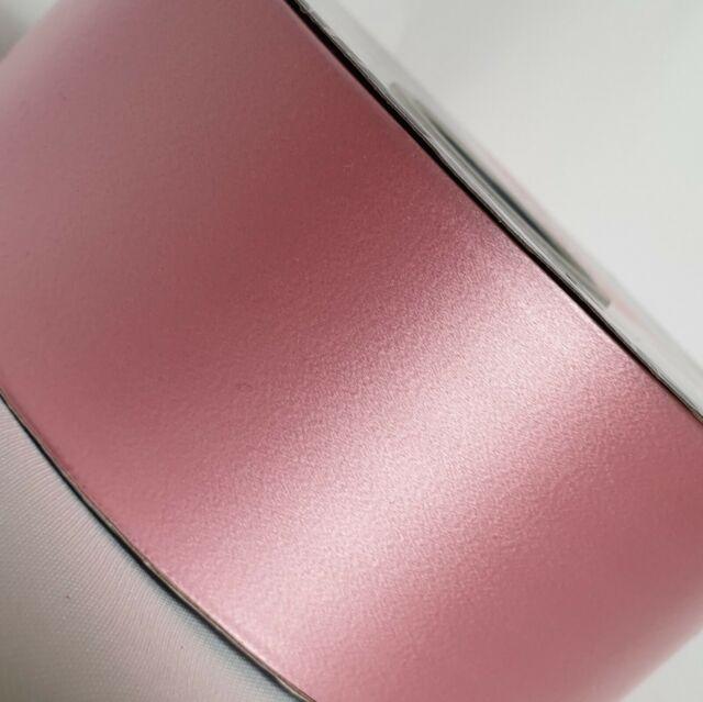 90m APAC Baby Pink Poly Ribbon 2inch//48mm Craft Gift Wedding Car Venue 6m