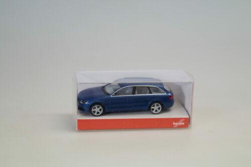 neuw.//ovp 1:87 Herpa 034012 Audi A4 Avant blau-met.