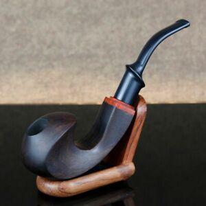 Legno appunto Tubo in Legno 9mm FILTRO fumare tabacco OPACA HANDMADE REGALO con astuccio