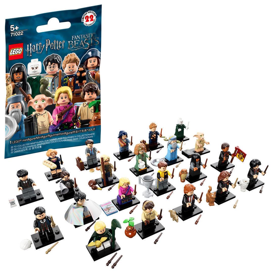 LEGO 71022-Minifigures-Harry Potter & FANTASTICI BESTIE-COMPLETO-TUTTI I 22