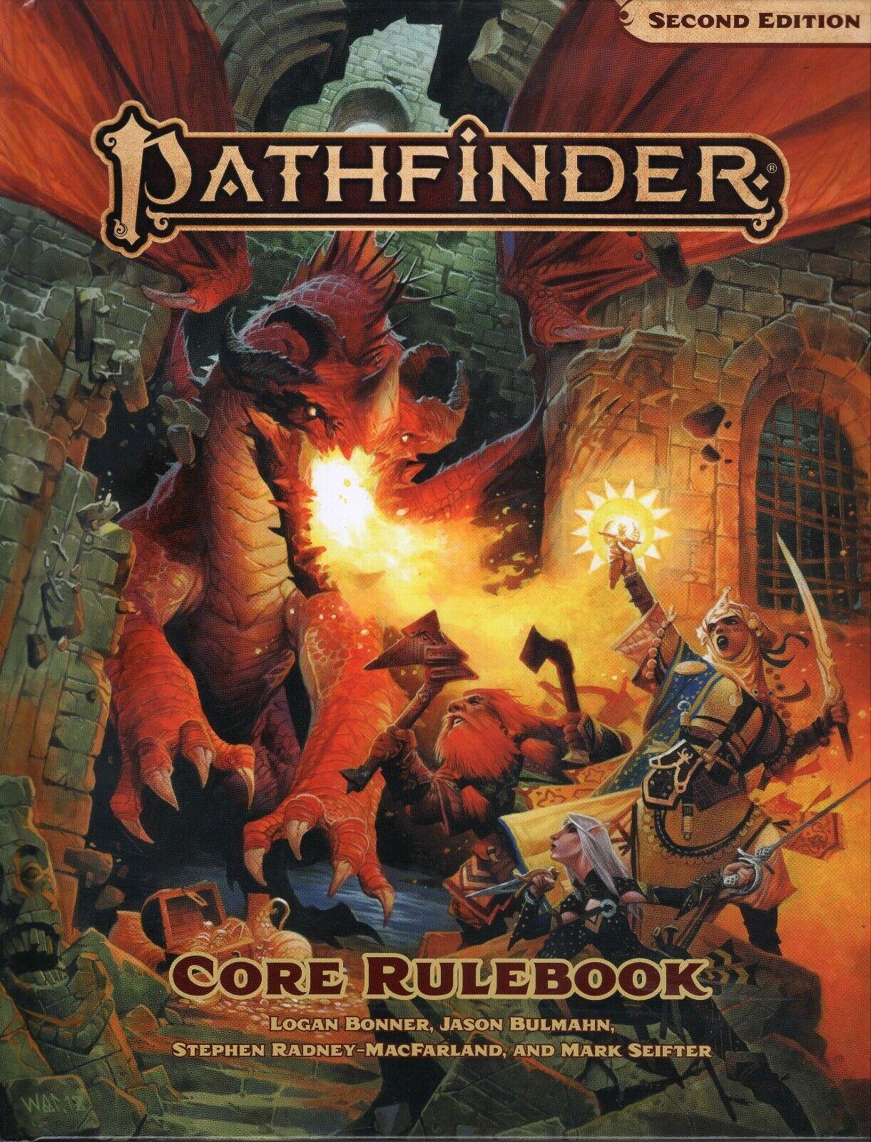 Paizo Juegos  Pathfinder (P2) Core normativa segunda edición hc