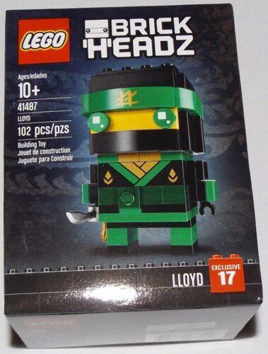 LEGO 41487 BrickHeadz LLOYD #17 the Ninjago Movie green ninja
