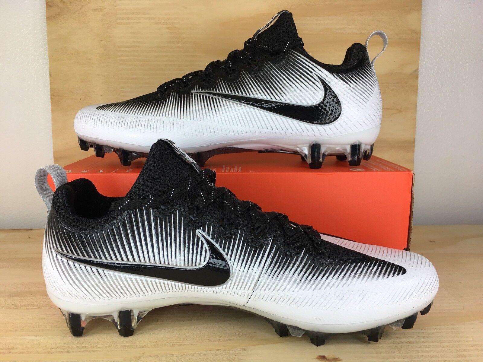 Nike Vapor Untouchable Pro Football Cleats White Black Oreo SIZE Price reduction Cheap women's shoes women's shoes