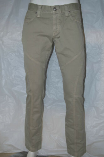 BE13 -70/% PANTALONE UOMO MELTIN POT 5 TASCHE COTONE Mod STRETTO L32 ROSS