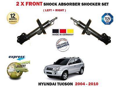 FOR HYUNDAI TUCSON 2004-2010 2X FRONT LEFT RIGHT SHOCK ABSORBER SHOCKER SET
