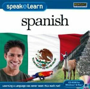 Speak-and-Learn-Spanish-XP-Vista-7-8-10-MAC-Entertaining-Way-to-Learn-New