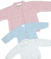 BabyPrem Baby Clothes Premature Early Tiny Boys Girls Knitted Cardigan 3-5 5-8lb