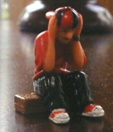 """LONELY BOY Homies Series 7 Figurine ~2/"""" tall New Loose Fig"""