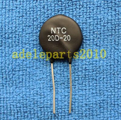 5PCS Thermistor 20D-20 NTC  Negative Temperature Coefficient Thermometer Sensor