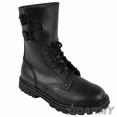FRENCH ARMY FULL GRAIN LEATHER INFANTRY BOOTS