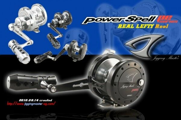 Jigging Master Power Spell JM PE 8 LH Jigging YO-YO fishing reel TRUE LEFT BK GR