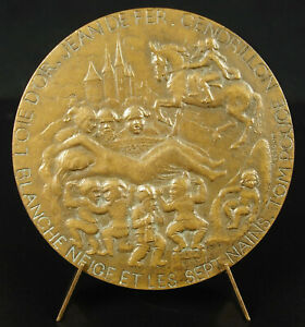Medal-the-Tales-of-Brothers-Grimm-Tales-Snow-White-and-the-7-Dwarfs-Medal