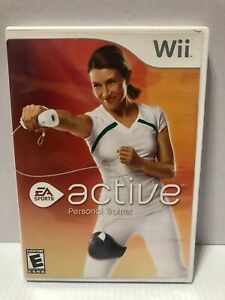 Nintendo-Wii-EA-Sports-Active-Personal-Trainer-Cleaned-and-Tested