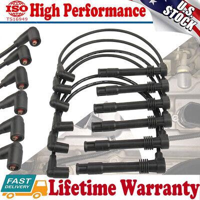 57055  Spark Plug Wire Fit For VW Passat Audi A4 A6 A4 Quattro V6 2.8L 1997-2005