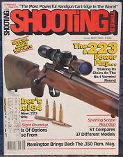 Magazine SHOOTING TIMES, May 1985 !!! KIMBER Model 84 .223 Bolt-Action RIFLE !!!