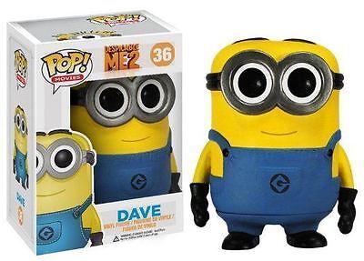 POP! Despicable Me: Dave - Funko Movies Minion Stylized Vinyl Figurine NEW
