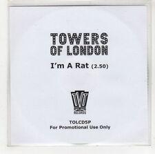 (GI549) Towers of London, I'm A Rat - 2007 DJ CD