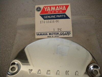 NOS Yamaha OEM Oil Pump Crankcase Cover 70-71 CS3 67-68 YCS1 174-15416-00