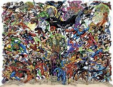 Marvel VS Dc Style A Poster 13x19