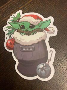 Baby Yoda Mandalorian Star Wars Fan Art Sticker | eBay
