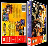 Castlevania - N64 Reproduction Art Case/box No Game.