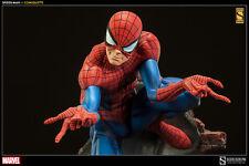 SIDESHOW MARVEL SPIDER-MAN J. SCOTT CAMPBELL COMIQUETTE STATUE EXCLUSIVE ~NEW~