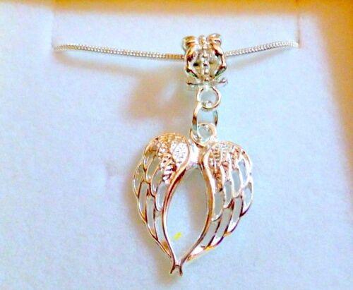 Alas de ángel guardián recuerdo en los brazos de un Ángel Collar Caja De Regalo
