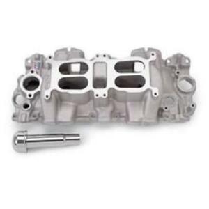 Edelbrock 5409 Performer RPM Dual-Quad Air-Gap Intake Manifold Chevy - V8 (348-4