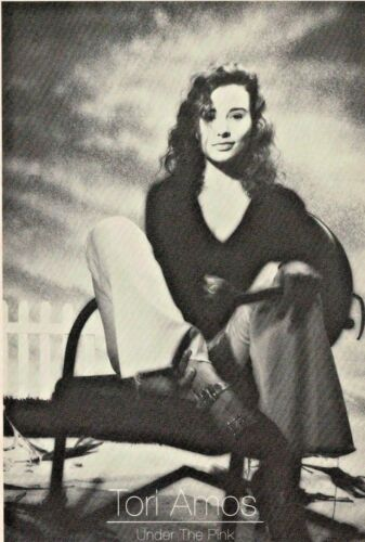 Tori Amos Under The Pink Vintage Postcard-1994 FREE INTERNATIONAL SHIPPING